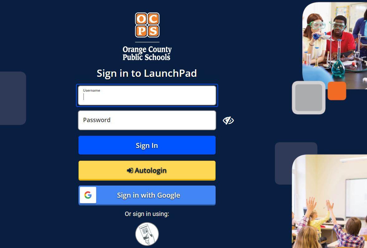 OCPS Launchpad Login
